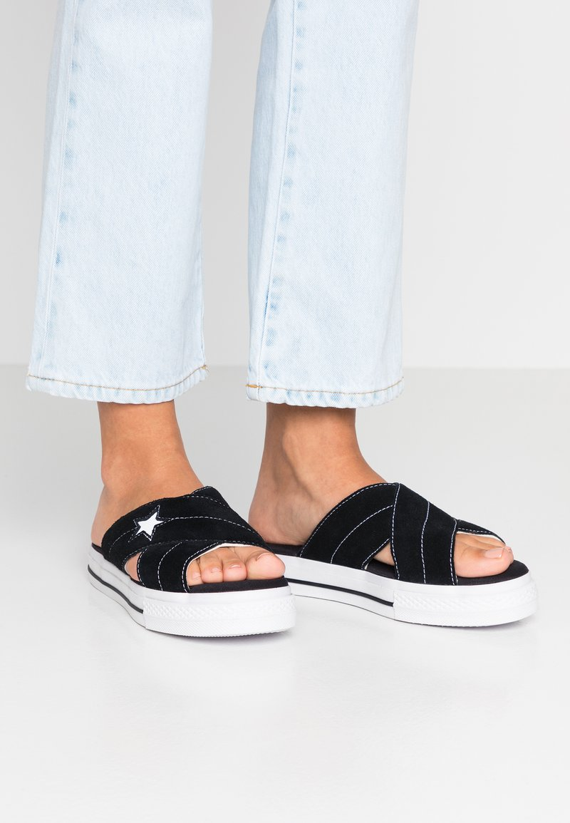 Converse - ONE STAR  - Mules - black/egret/white