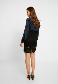 Vila - A-snit nederdel/ A-formede nederdele - black - 2