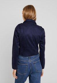 KIOMI - Faux leather jacket - dark blue - 2