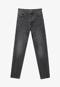 Stradivarius - Relaxed fit jeans - dark grey - 4