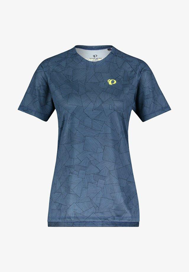SUMMIT - Print T-shirt - marine (300)