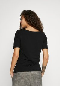 Anna Field Petite - BASIC CREW NECK  - T-paita - black - 2