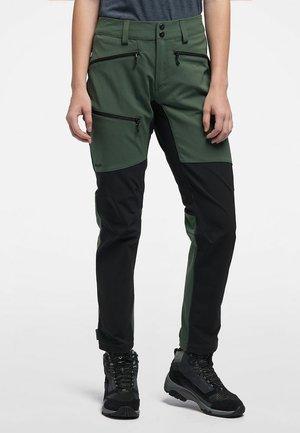 RUGGED FLEX PANT - Outdoor-Hose - fjell green/true black
