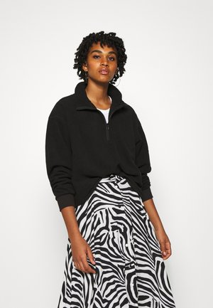 MOLLY - Fleecepullover - black
