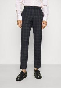 Ben Sherman Tailoring - CHECK SUIT - Kostym - navy - 4