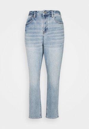 CURVY MOM - Jeansy Straight Leg - medium vintage