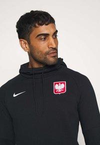 Nike Performance - POLEN HOOD - Club wear - black/white - 3