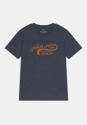 JJNICK TEE CREW NECK JR - T-Shirt print - navy blazer