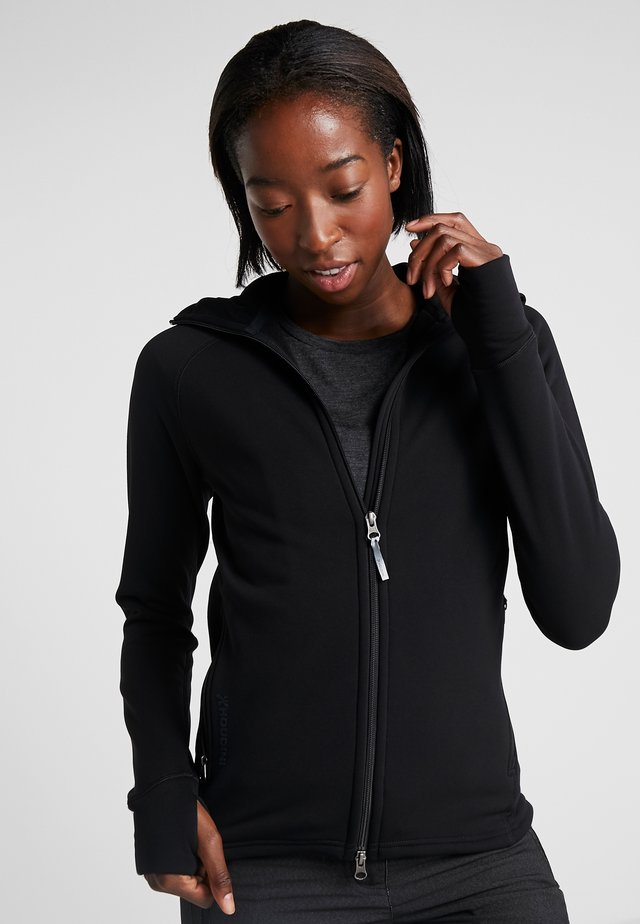 POWER HOUDI - Fleece jacket - trueblack