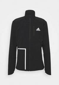 adidas Performance - OWN THE RUNNING RESPONSE PRIMEGREEN JACKET - Training jacket - black - 0