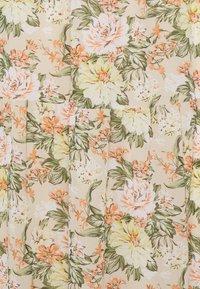 Vila - VIMILINA FLOWER SKIRT - Maxi skirt - sandshell - 6