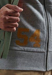Superdry - Zip-up hoodie - collective dark grey grit - 2