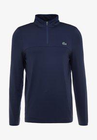 Lacoste Sport - QUARTER ZIP - Sports shirt - navy blue - 3
