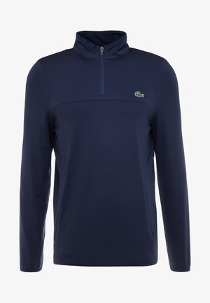 QUARTER ZIP - Camiseta de deporte - navy blue