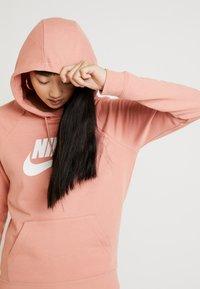 Nike Sportswear - HOODIE - Luvtröja - pink quartz/white - 3