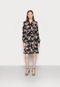 PIECES Tall - PCPAOLA DRESS - Shirt dress - black - 0