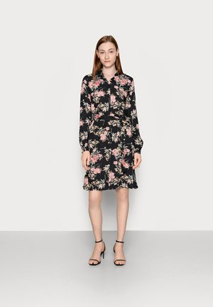 PCPAOLA DRESS - Shirt dress - black