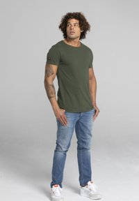 Liger - LIMITED TO 360 PIECES - Basic T-shirt - military green - 1