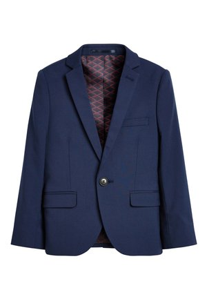 NAVY SKINNY FIT SUIT JACKET (12MTHS-16YRS) - blazer - blue