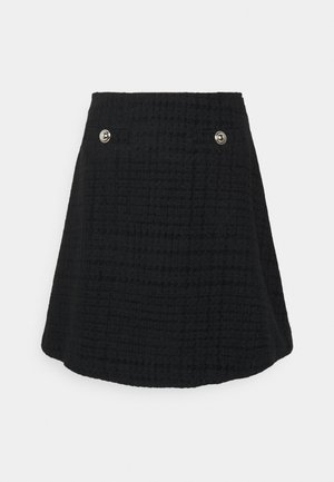 SAVANNA - A-line skirt - noir