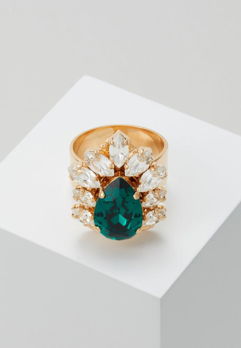 Anton Heunis - Ring - green/gold-coloured