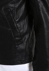 Jack & Jones - JORORIGINAL - Veste en similicuir - black - 4