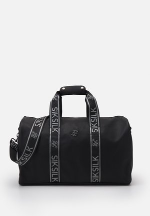 TAPE TRAVEL BAG UNISEX - Sports bag - black