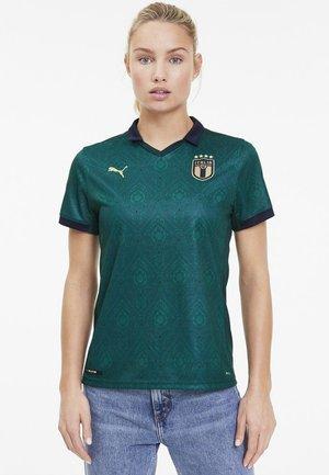 Print T-shirt - ponderosa pine-peacoat