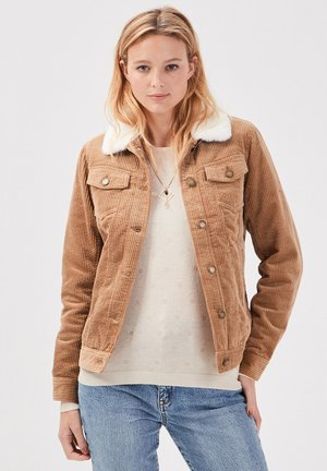 GERADE AUS CORD - Summer jacket - marron