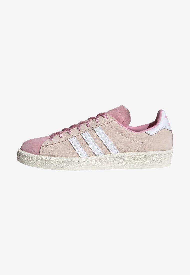 adidas Originals - CAMPUS 80S - Sneakersy niskie - pink tint/ftwr white/purple tint