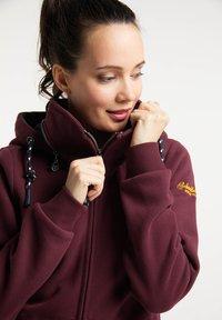 Schmuddelwedda - Zip-up sweatshirt - bordeaux - 3