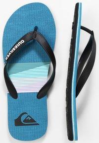 Quiksilver - MOLOKAI SEASONS  - Pool shoes - black/blue/black - 0