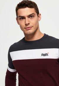 Superdry - ORANGE LABEL - Long sleeved top - minted burgundy red - 2