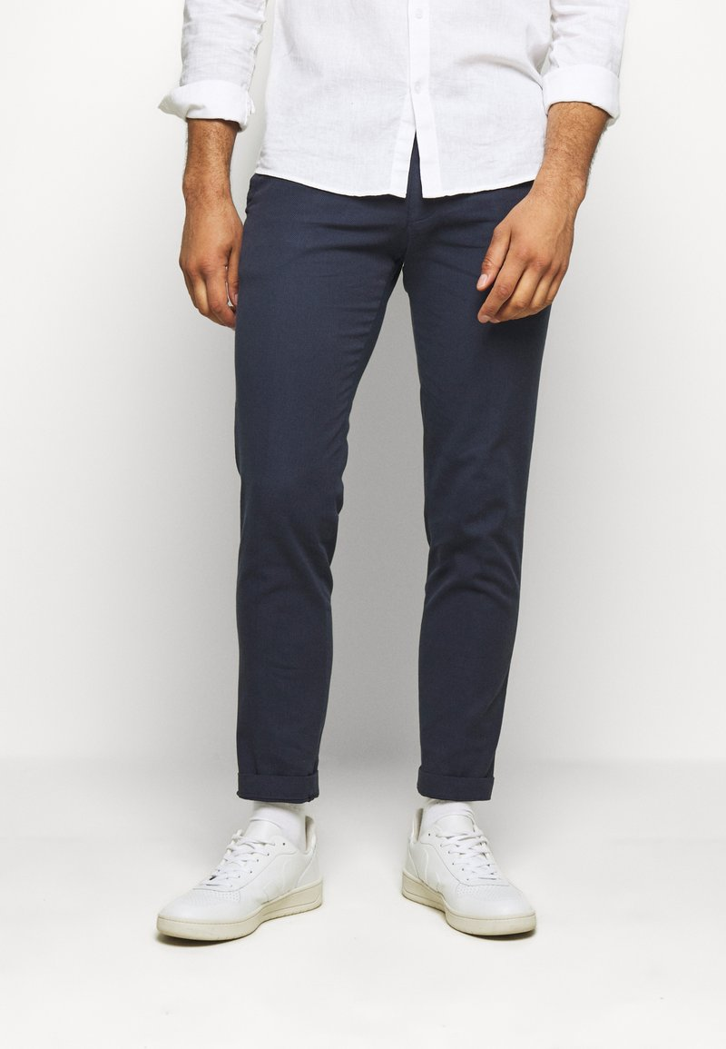 Cinque - CIBRODY TROUSER - Trousers - navy