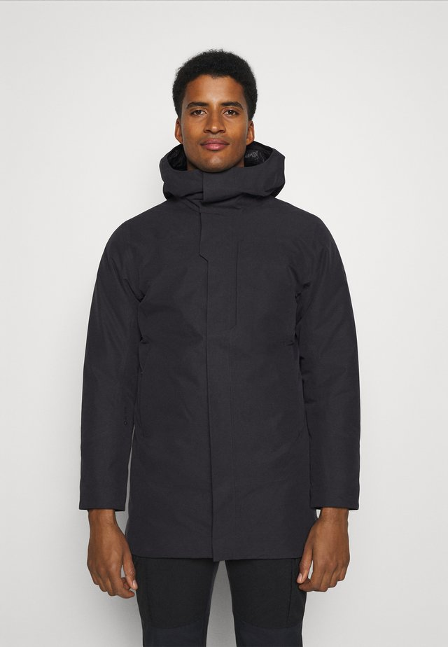 THERME PARKA MENS - Down coat - black