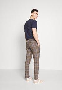 Topman - HERITAGE - Trousers - brown - 2