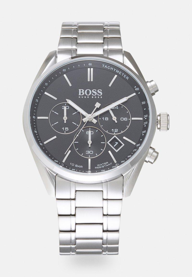 BOSS - CHAMPION - Cronógrafo - silver-coloured/black