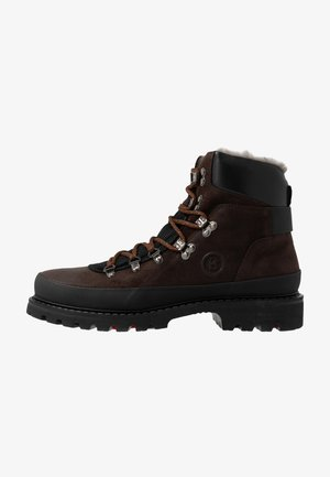 HELSINKI - Veterboots - dark brown