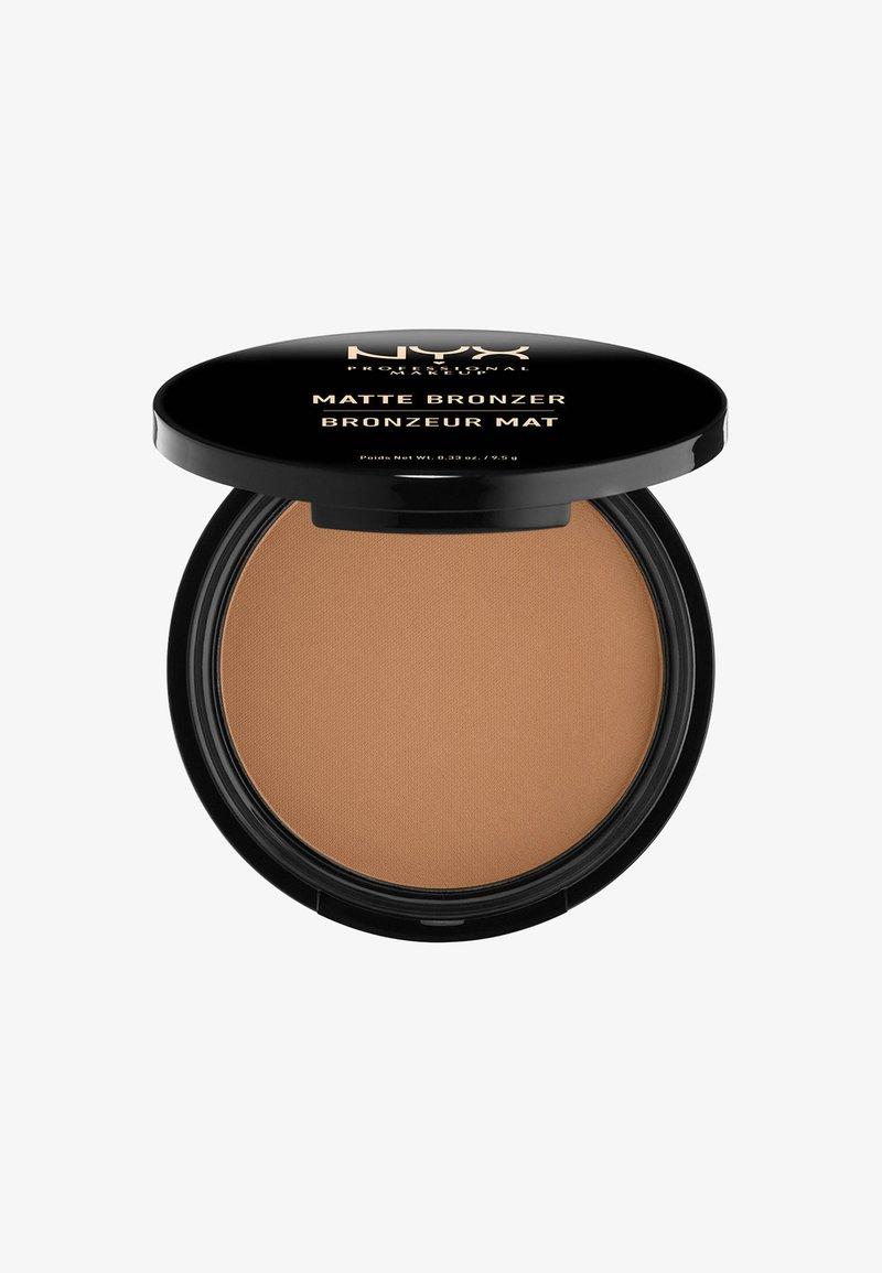 Nyx Professional Makeup - MATTE BODY BRONZER - Bronzer - 5 deep tan