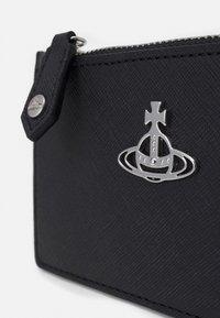 Vivienne Westwood - DERBY SLIM LONG CARD HOLDER - Wallet - black - 4