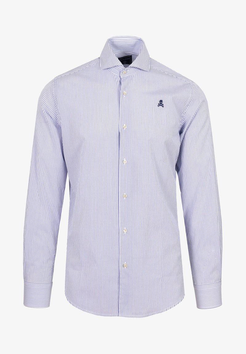 Scalpers - Shirt - blue stripes