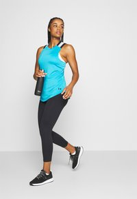 Under Armour - MERIDIAN CROP - Medias - black - 1