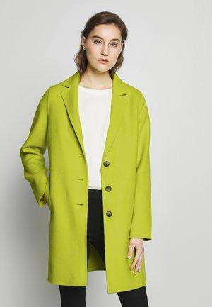 DOUBLE FACE COAT - Krátký kabát - neon yellow