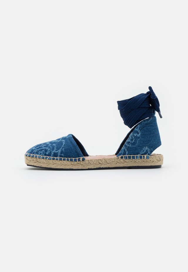 GILDA - Sandalen - denim blu