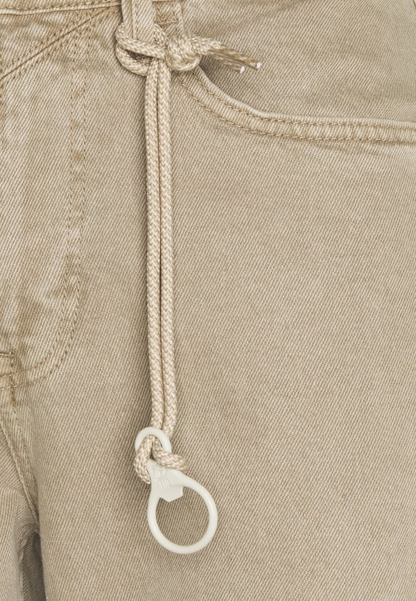 TOM TAILOR DENIM Spodnie materiałowe - sand/piaskowy Odzież Męska KASO