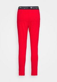 Champion - SLIM PANTS - Teplákové kalhoty - red - 1