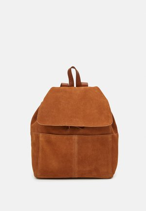 LEATHER - Sac à dos - cognac