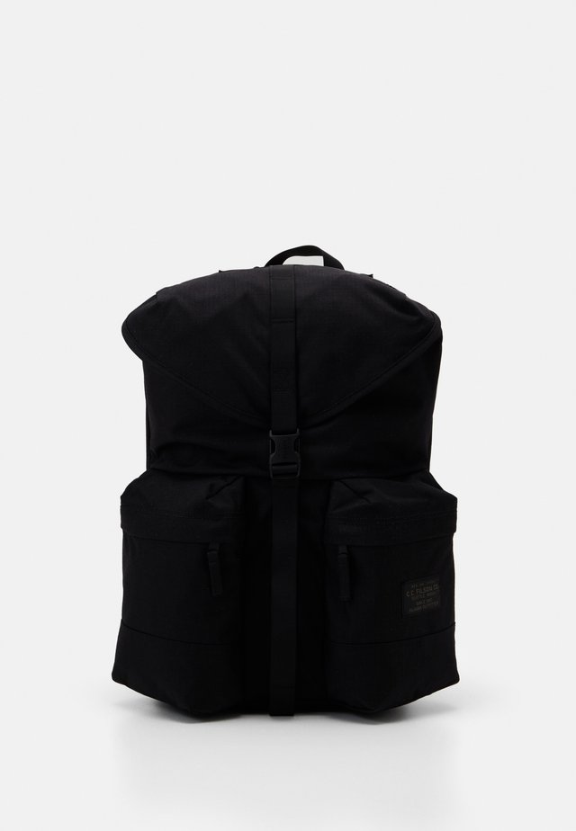 RIPSTOP BACKPACK - Reppu - black