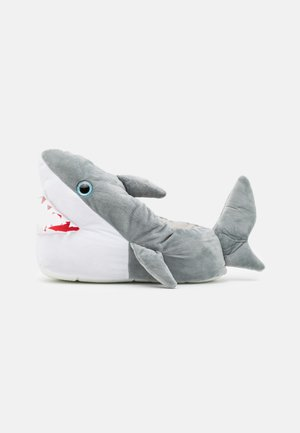 SHARK - Pantuflas - grey