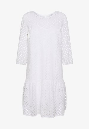 DRESS BROIDERY ANGLAISE - Day dress - white